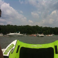 Photo taken at Sandbar At Lake Wylie by Holly B. on 5/26/2012