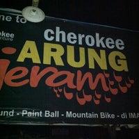Photo taken at Cherokee arung jeram by Yusuf F. on 2/10/2012