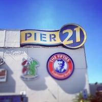 Photo taken at Pier 21 by Prefeito V. on 4/11/2012