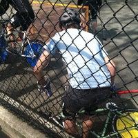 Photo taken at Bike Polo Pit by Wally K. on 4/14/2012