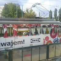 Photo taken at Przystanek AWF (tram) by Sergey I. on 9/4/2012