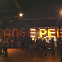 Photo taken at The Orange Peel by Leslie M. on 5/24/2012