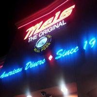 Photo taken at Mel's Diner by Antha F. on 4/23/2012