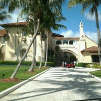 Photo taken at The Mar-a-lago Club by Amy G. on 3/13/2012