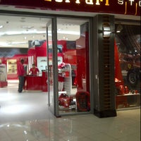 Photo taken at Ferrari Store by Billy R. on 5/15/2012