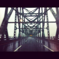Photo taken at Maurice J. Tobin Memorial Bridge by Steve G. on 6/2/2012