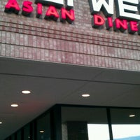 Photo taken at Pei Wei by Carla R. on 9/2/2012