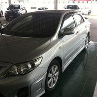 Photo taken at Toyota Bara Winsor Lat Krabang by SOROTE S. on 3/10/2012