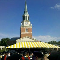 Photo taken at Wake Forest University by Tim D. on 5/21/2012