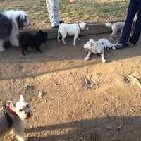 Photo taken at Veterans Grove Dog Run by Mariana B. on 3/19/2012