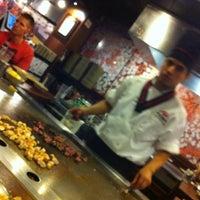 Photo taken at Kobe Japanese Steak & Seafood by Augusto L. on 6/12/2012