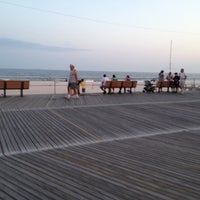 Photo taken at Long Beach Boardwalk - National Blvd by Nilay S. on 7/1/2012