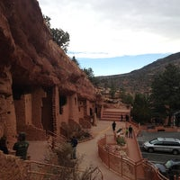 Photo taken at Manitou Cliff Dwellings by Kevin N. on 3/17/2012