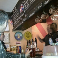 Photo taken at Just Beer Micropub by Phil A. on 6/2/2012