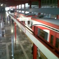 Photo taken at Tren Suburbano San Rafael by kaneda on 6/29/2012