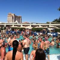 Photo taken at Wet Republic Ultra Pool by Jarelle K. on 6/15/2012