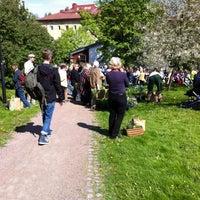 Photo taken at Annalan viljelyspalstat by Jarno K. on 5/24/2012