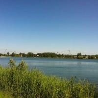 Photo taken at Ozolnieku dīķis by Vilnis K. on 7/24/2012