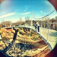 Photo taken at Liberty Bridge by Josh M. on 3/8/2012