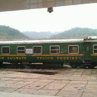 Photo taken at Ga Lào Cai (Lao Cai Station) by Yarsep H. on 9/3/2012
