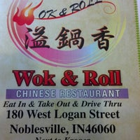 Photo taken at Wok & Roll by Michael F. on 7/13/2012