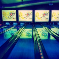 Photo taken at Lucky Strike Lanes by Andrew S. on 5/27/2012