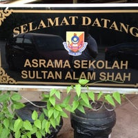 Photo taken at Sekolah Sultan Alam Shah (SAS) by Izahariman I. on 6/5/2012
