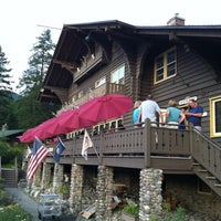 Photo taken at Belton Chalet by George S. on 8/14/2012