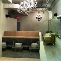 Photo taken at Asanda Aveda Spa Lounge by asanda s. on 5/9/2012