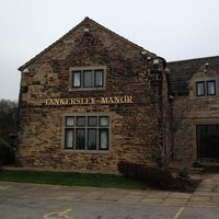 Photo taken at Tankersley Manor Hotel by Raquel S. on 3/13/2012