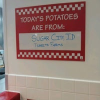 Photo taken at Five Guys by H D Auston M. on 5/15/2012