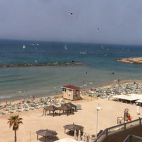Photo taken at Frishman Beach by Jesus M. on 3/24/2012