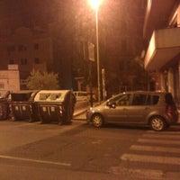 Photo taken at Piazza della Marranella by Anita B. on 7/26/2012