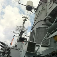 Photo taken at USS Cassin Young by Sasha M. on 6/7/2012