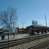 Photo taken at Metra - Edgebrook by Nicky N. on 3/10/2012