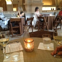 Photo taken at The Great Hall Balcony Bar at The Metropolitan Museum of Art by Brian V. on 3/23/2012