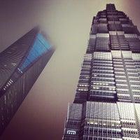 Photo taken at Grand Hyatt Shanghai by Israel D. on 4/20/2012