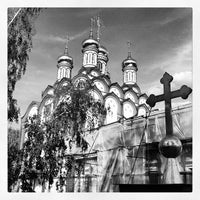 Photo taken at Храм Святителя Николая в Хамовниках by Александр <С> Г. on 8/3/2012