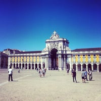 Photo taken at Praça do Comércio (Terreiro do Paço) by André C. on 8/26/2012