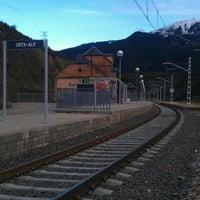 Photo taken at Estació Urtx-Alp by MarcosGF on 5/5/2012