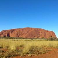 Photo taken at Uluru by Kershia K. on 7/16/2012