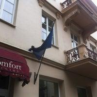 Photo taken at Comfort Hotel Vilnius by YANA K. on 8/29/2012