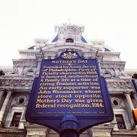 Photo taken at Philadelphia City Hall by Jacob F. on 7/5/2012