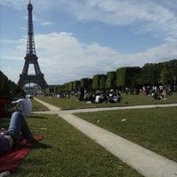 Photo prise au Jardin du Champ-de-Mars par Nicolas C. le6/30/2012