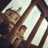 Foto scattata a Colonne di San Lorenzo da Virginia V. il 3/4/2012