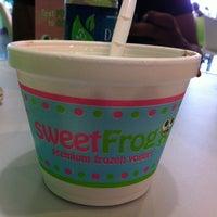 Photo taken at SweetFrog by Susan C. on 4/29/2012