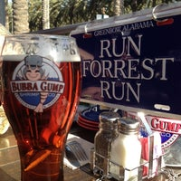 Photo taken at Bubba Gump Shrimp Co by Ernie G. on 4/8/2012