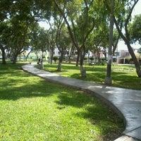 Photo taken at Parque de California by Maria R. on 5/22/2012