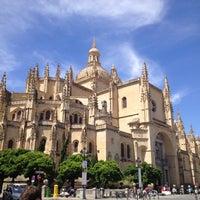 Photo taken at Catedral de Segovia by Pilar M. on 7/22/2012