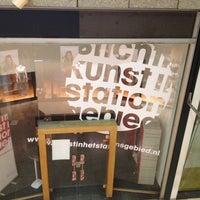 Photo taken at Kunst In Het Stationsgebied by Lie T. on 5/25/2012